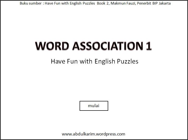 wordAssociation1