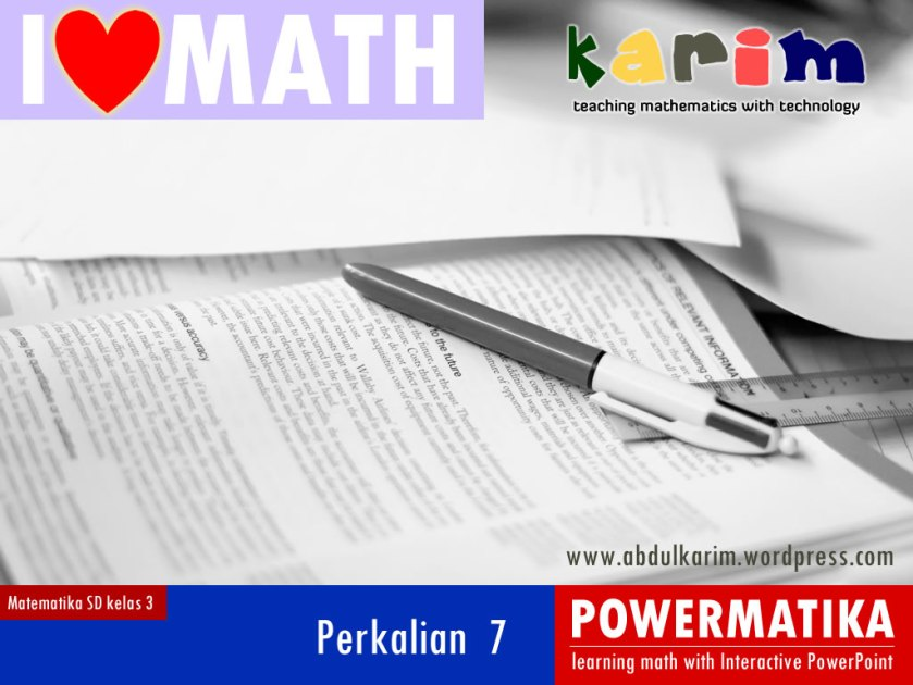 coverIloveMath_perkalian7
