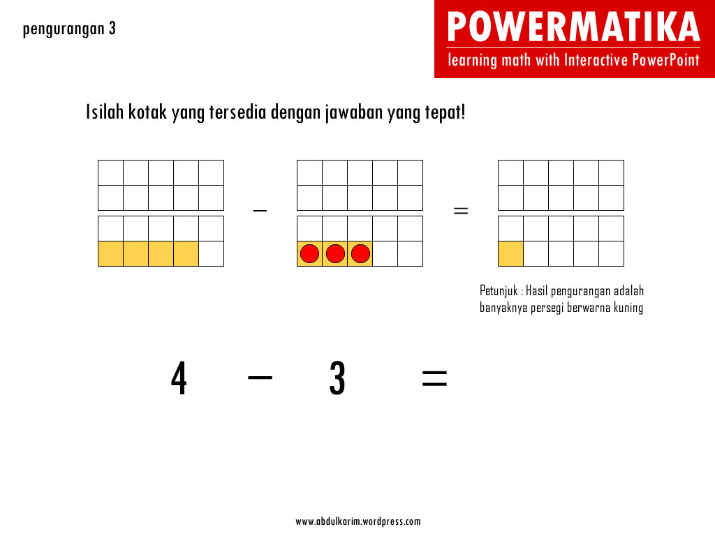 download : powerpoint interaktif pengurangan 3 (file ppsm)