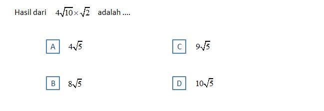 Ujian Nasional 2014 SMP Nasima : Pembahasan Soal UN Matematika SMP