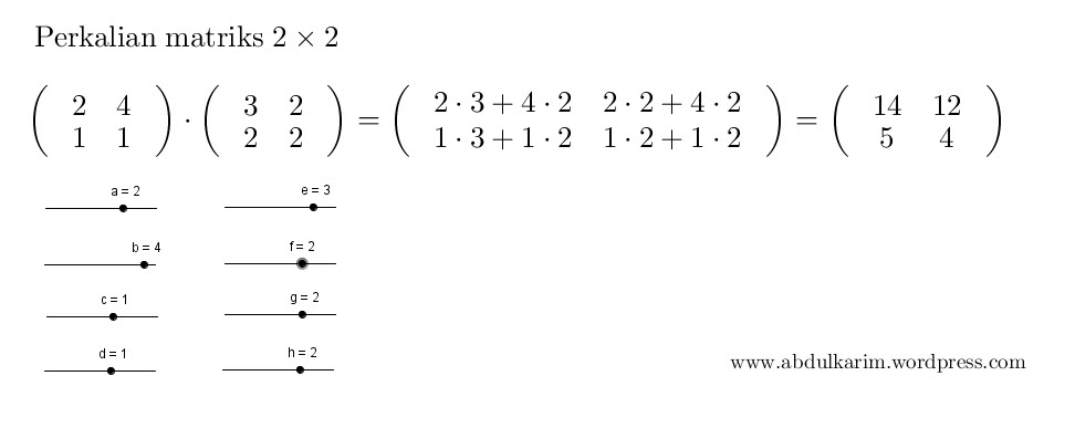 perkalianmatriks2x2