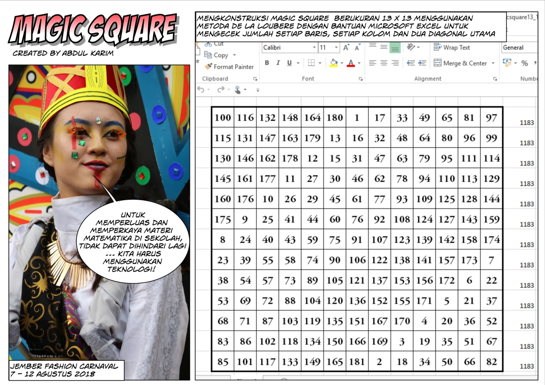 magic square 4a