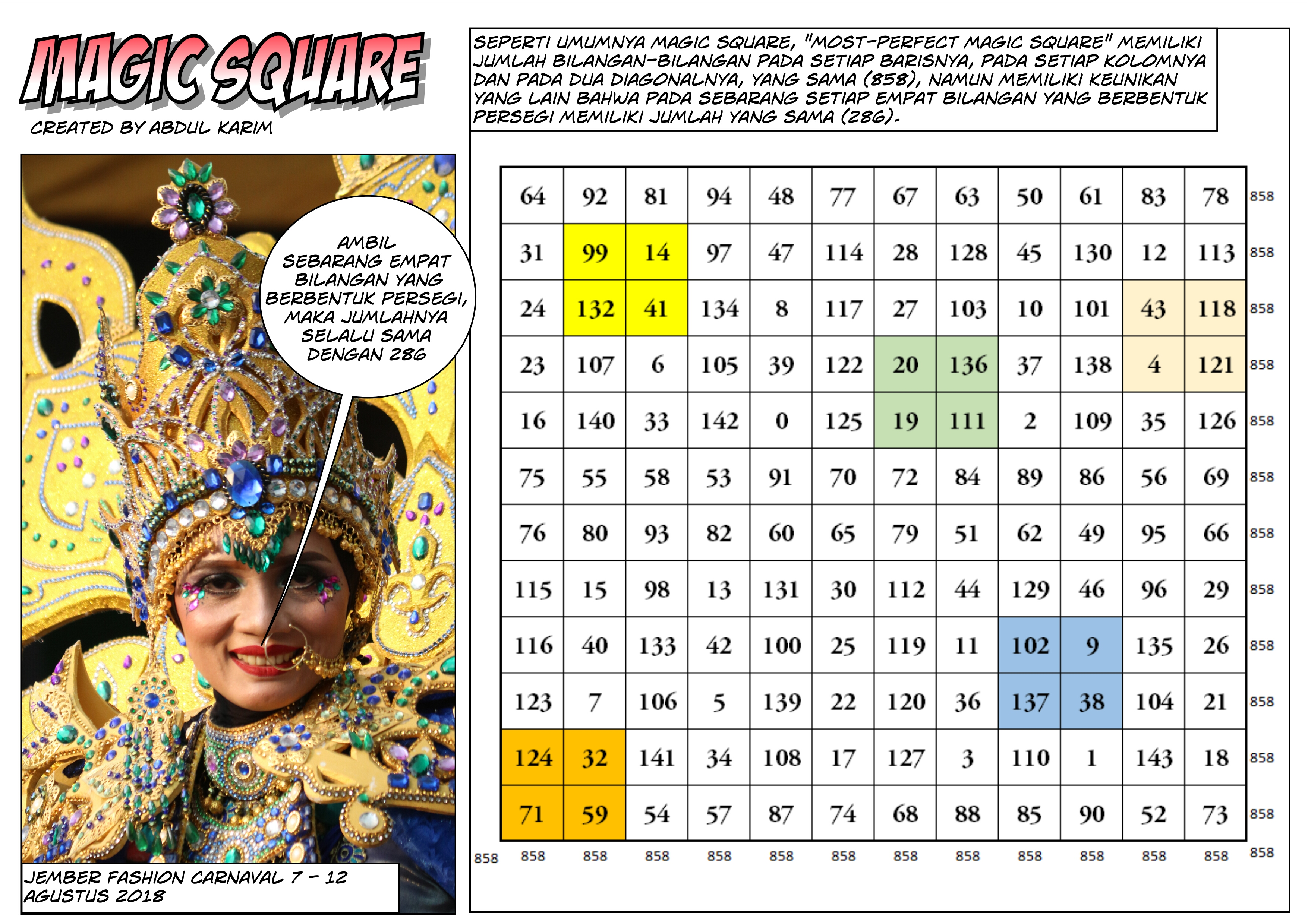 magic square 5